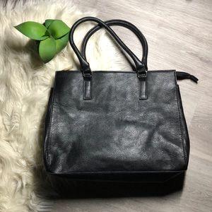 Black H&M Tote Purse with Strap